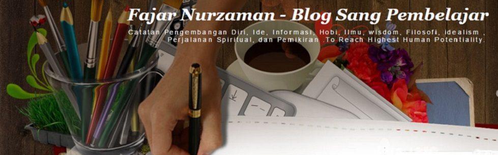 Fajar Nurzaman – Blog Sang Pembelajar